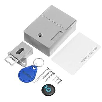 SGerste - Cerradura electrónica para armario con tarjeta ...