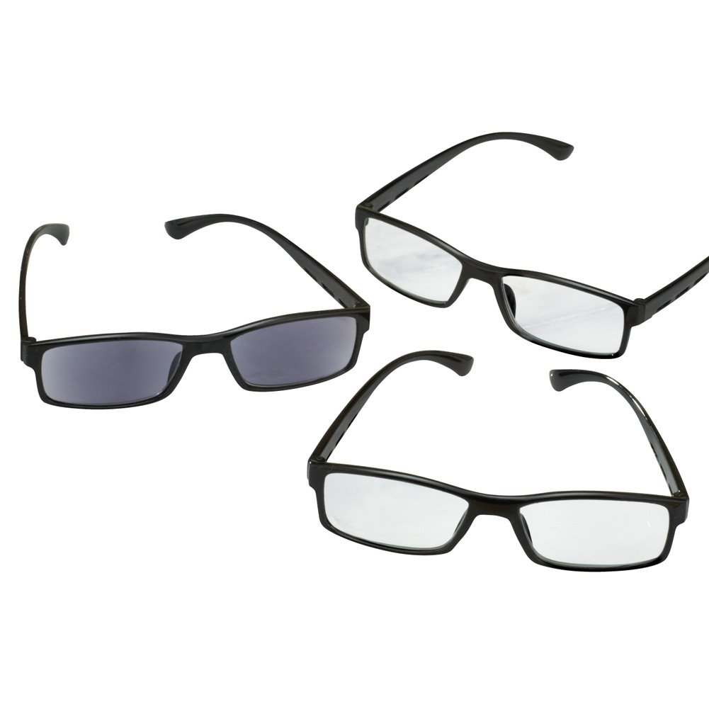 Reading Glasses And Sunglasses - Set Of 3, 6