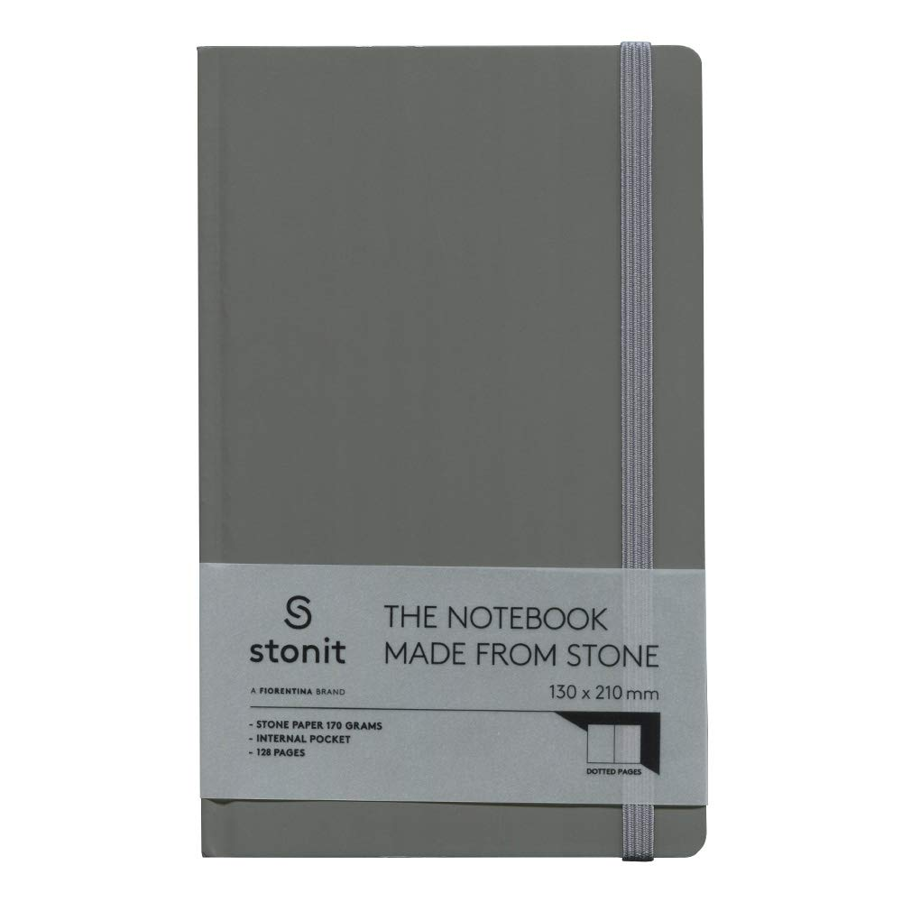 Stonit Hard Cover Dot Notebook - grau 3.5x5.5 (ST002-G) B07K39K98S    | Klein und fein