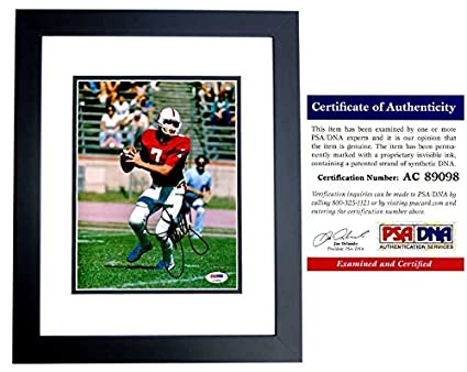 info for d5444 ad391 John Elway Signed - Autographed Stanford Cardinal 8x10 inch ...