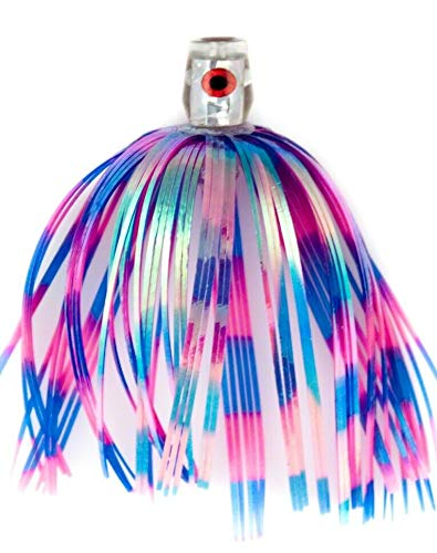 C&H Blue/Pink Skirt, 3 pc CH-BL03 King Buster Bling Series Lure, ()