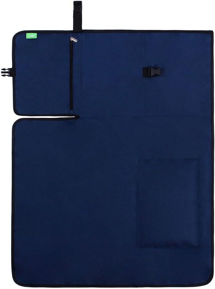 50/x 60/cm Port/átil y Cambiador impermeable cambiador para viaje lulando cambiador de viaje beb/é Blue pr/áctica Cuidado Matte para cochecito