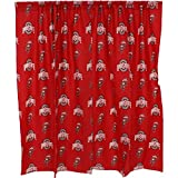 College Covers Ohio State Buckeyes Printed Shower Curtain Cover - 70'' x 72''