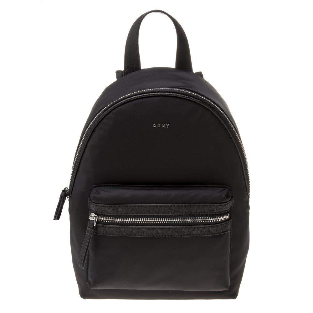 DKNY Mini Logo Mujer Backpack Negro