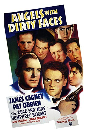 American Gift Services - Angels with Dirty Faces Vintage James Cagney Movie Poster - 24x36