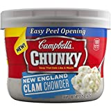 Campbell's Chunky Soup, New England Clam Chowder, 15.25 Ounce (Pack of 8) by Campbell's