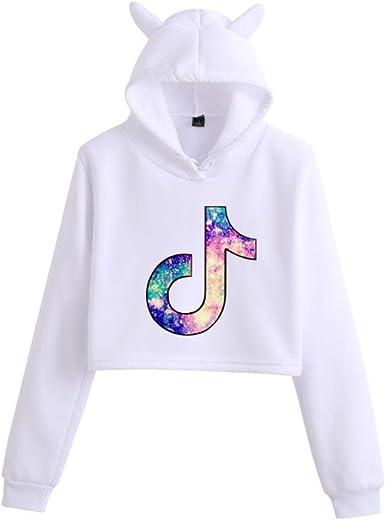 PARA TIK Tok Youth Fashion Trend Loose cat Ear Sweater