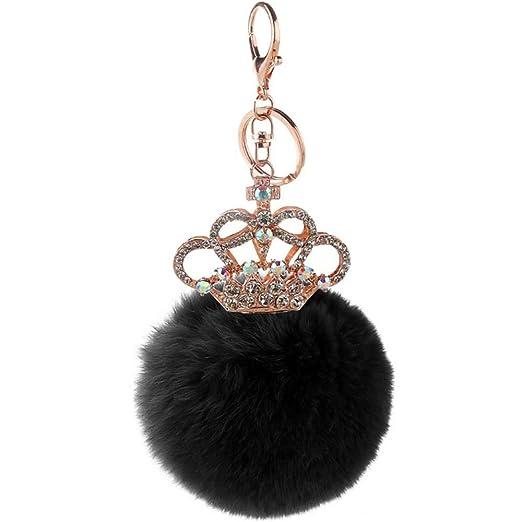 Llavero Diseño de la corona Llavero de Furball con diamantes ...