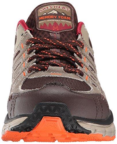 Taupe Geo Men's Oxford Brown Sneaker Trek Sport Skechers xTvPHqwYgn