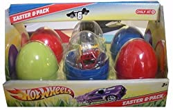 Hot Wheels 6 Car Easter Gift Pack Set / Limited Edition Target Exclusive / Look for Hunt Chaser Cars