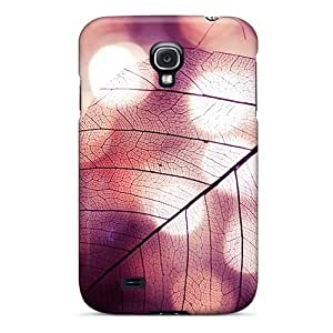 PPg6737UwjD Tpu Case Skin Protector For Galaxy S4 Leaf With Nice Appearance