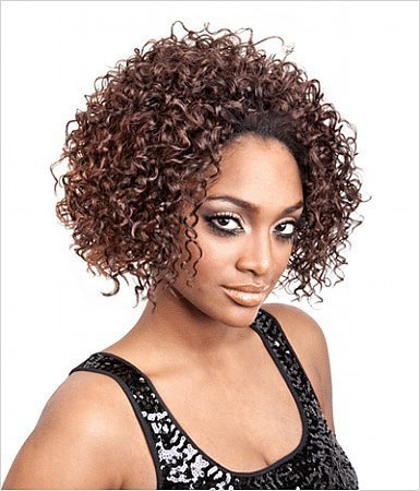 TP-08 half wig & draw string by Isis Collection-1(jet black) by ISIS Collection