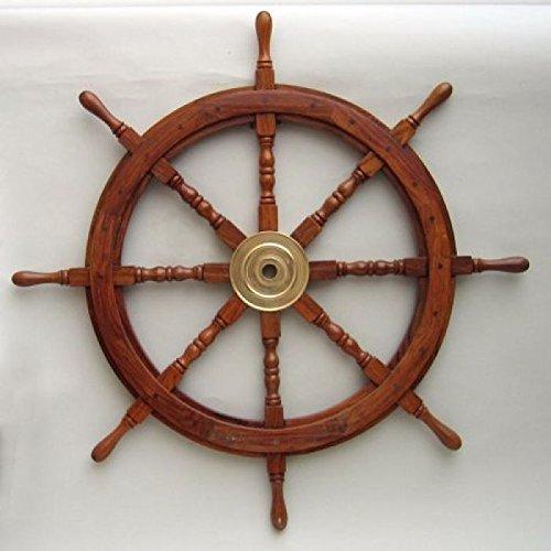 steering wheel of ship - 8