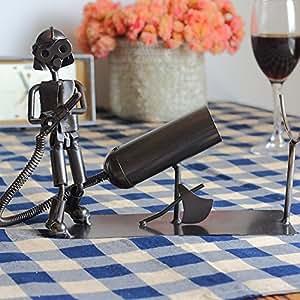 Continental Iron wine rack/Wine Racks/Wine Rack/Wine Creative Decoration-A