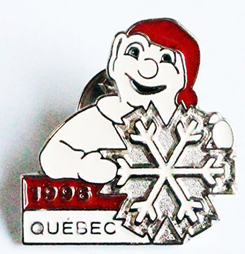 [Quebec 1996 Canada Tourist Promotional Trading Collectible Lapel Tie Pin] (Canada Collectible Pin)