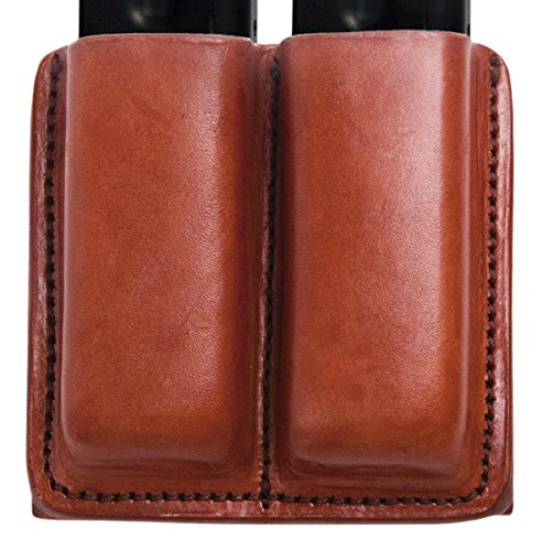 Tagua Gunleather MC6 Double Mag Carrier Fits Glock 42 & 43 Magazines