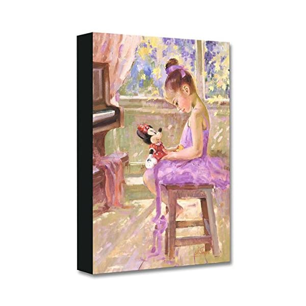 Disney Fine Art Joyful Inspiration by Irene Sheri Treasures on Canvas Minnie Mouse...