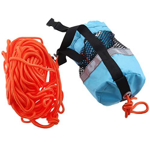 Homyl Blue 102ft Rescue Emergency Drowning Bag Line Rope Saver Swiming Throw Bag by Homyl (Image #5)