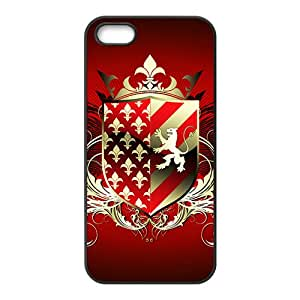Red Shield Badge Hot Seller High Quality Case Cove For Iphone 5S