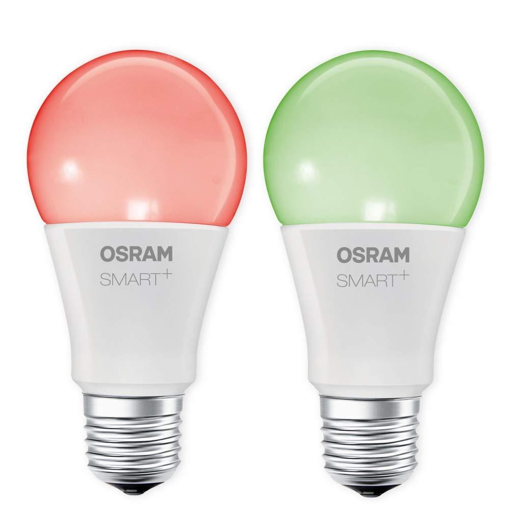 OSRAM SMART+ LED RGBW E27 10W 60W RGB ZigBee Lightify Echo Alexa kompatibel Auswahl 2er Set