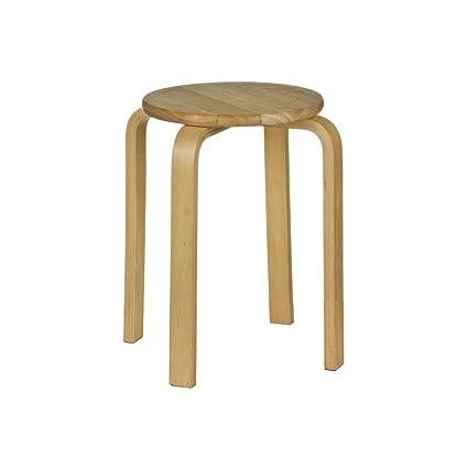 Astonishing Prime Furnishing Set Of 4 Stacking Stool Tropical Hevea Wood Theyellowbook Wood Chair Design Ideas Theyellowbookinfo