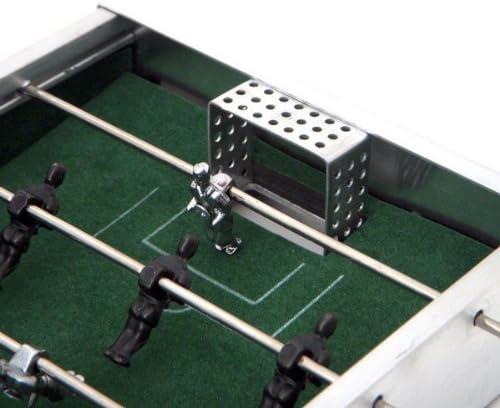 Mini Futbolín Edición Aluminio: Amazon.es: Juguetes y juegos