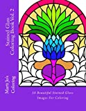 Stained Glass Coloring Book Vol. 2