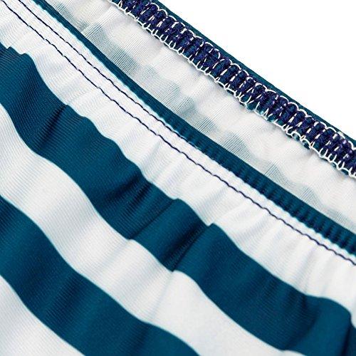 Pinkyee - Tankini - para mujer azul oscuro