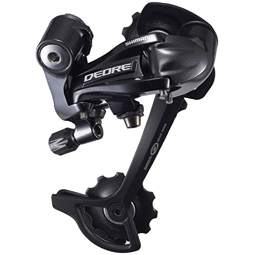 SHIMANO RD-M591 Deore SGS Rear Derailleur (9-Speed, Long Cage, Black) ()