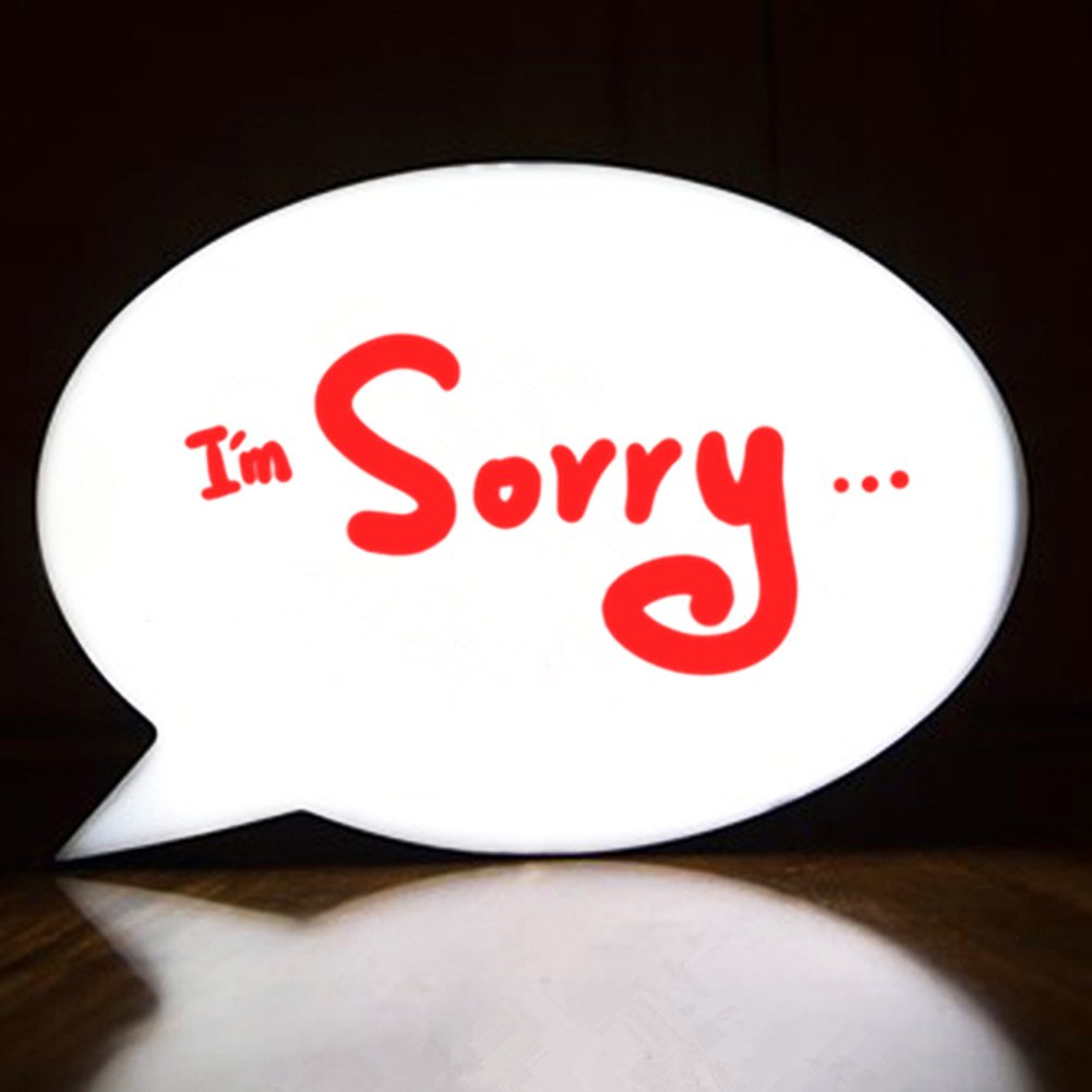 Handwriting Light Box, Billboard Creations Speech Bubble Message Board, LED bulbs, 11.8x8.3in Biger Size, Battery or USB Powered, Great for Supermarket, Nightclub, Party, Wedding, Drink Bar or Saloon