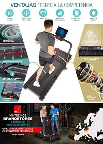 Sportstech Innovativa Cinta de Correr Plegable 2 en 1 con Plataforma ...