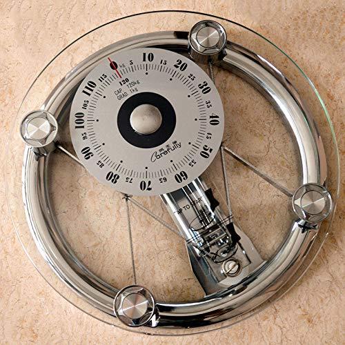 HAOMAO 1PCS Mechanical Bathroom Round Tempered Glass Floor Weight