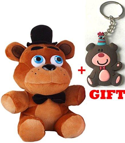 [Five Nights At Freddy's 4 FNAF Freddy Fazbear Bear Plush Toy for Boys and Girls] (Sims 3 Bear Costume)