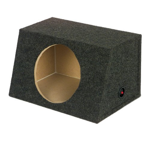 Q Power Single 15-Inch Unloaded (Subwoofer Unloaded Enclosure Box)