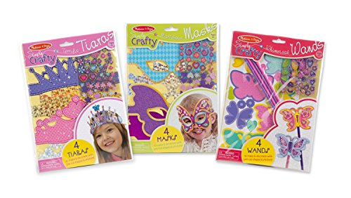 Melissa & Doug Simply Crafty Activity Kits Set: