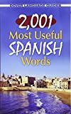 img - for 2,001 Most Useful Spanish Words (Dover Language Guides Spanish) book / textbook / text book
