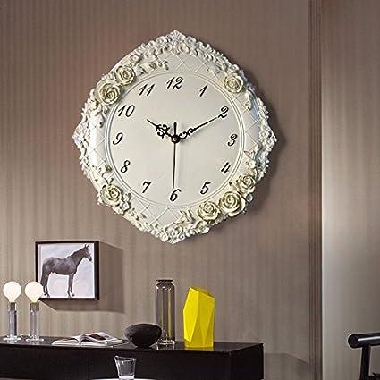 El reloj creativo relojes de pared decorativo tridimensional para salón o dormitorio Silencioso arte moderno reloj