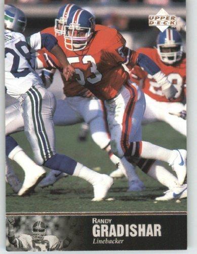(1997 Upper Deck Legends Football Card # 107 Randy Gradishar - Denver Broncos - NFL Trading Card)
