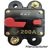 Car Audio Circuit Breaker Reset Fuse 200A For System Protection 12V/24V ...