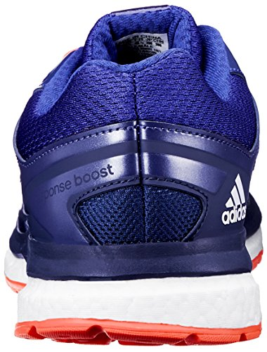 Adidas Performance Mens Risposta Boost Techfit M Scarpa Da Corsa Collegiale Blu / Amazon Viola / Infrarossi