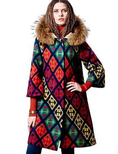 Floral Wool Coat - 7