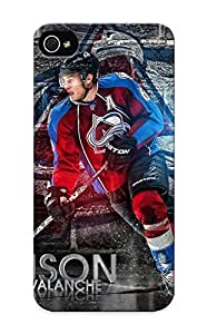 Crooningrose Hot Tpye Colorado Avalanche Nhl Hockey 16 Case Cover For Iphone 5/5s For Christmas Day's Gifts