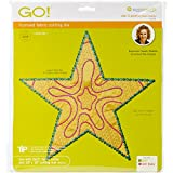 AccuQuilt GO! Fabric Cutting Dies, Star 5 Point by Sarah Vedeler