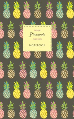 Pineapple Lined Notebook