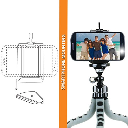 MobileMOUNT Portable Mini Projector Stand With Adjustable Head and Flexble Legs by Accessory Power (Image #2)