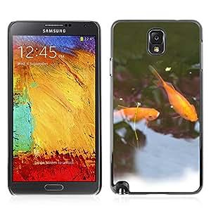 Super Stellar Slim PC Hard Case Cover Skin Armor Shell Portection // Goldfish V0000054 // Samsung Galaxy NOTE 3