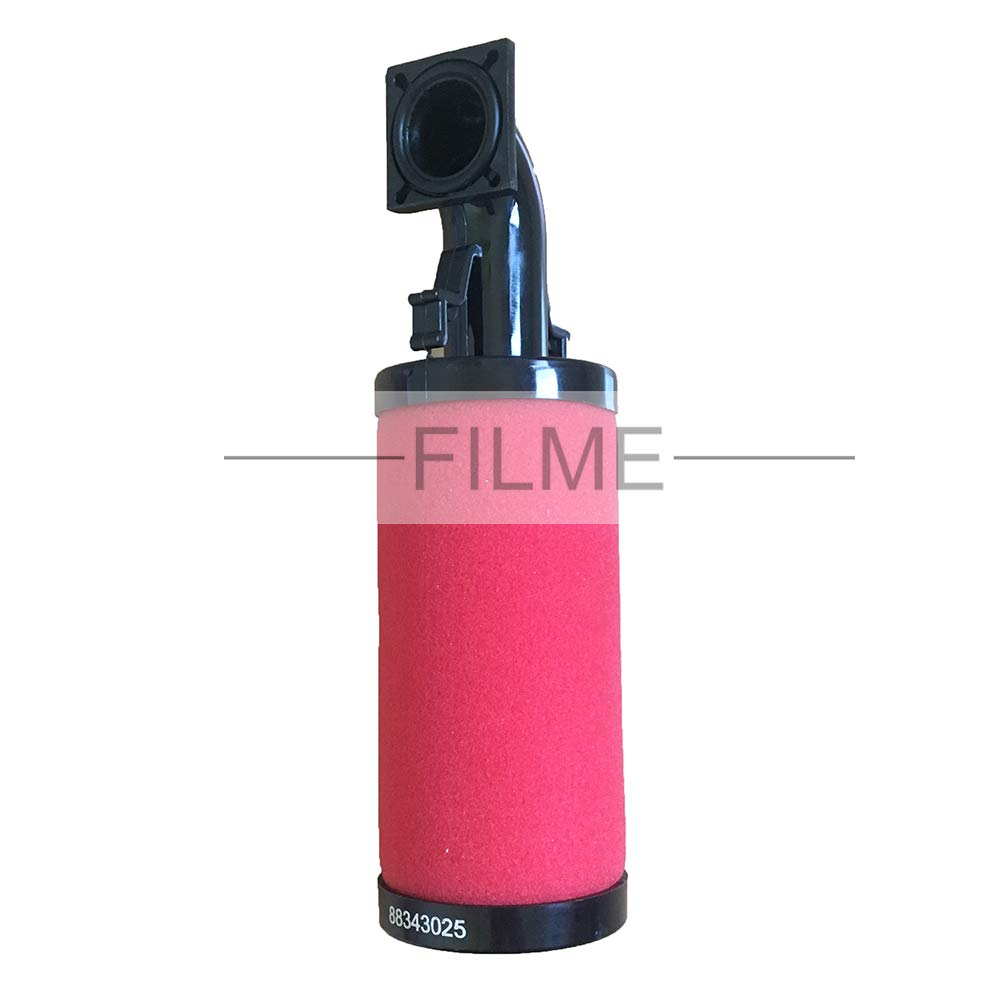 88342993 88343025 88343082 88343058 Pipeline Filter Element for Ingersoll-Rand Air Compressor Part GP HF AC DP 64 (88343025) by FILME