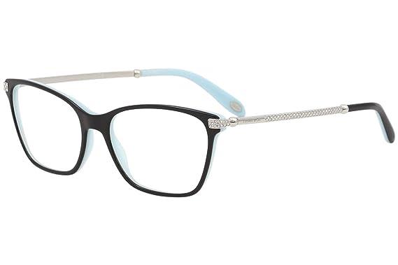 Amazon.com: Tiffany & Co Eyeglasses TF2158B TF/2158/B 8055 Black ...