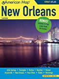 New Orleans la Atlas, American Map Inc, 0841614555