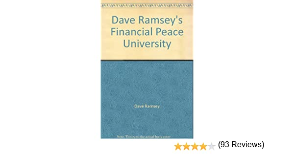 Dave Ramsey's Financial Peace University: Dave Ramsey: Amazon.com ...